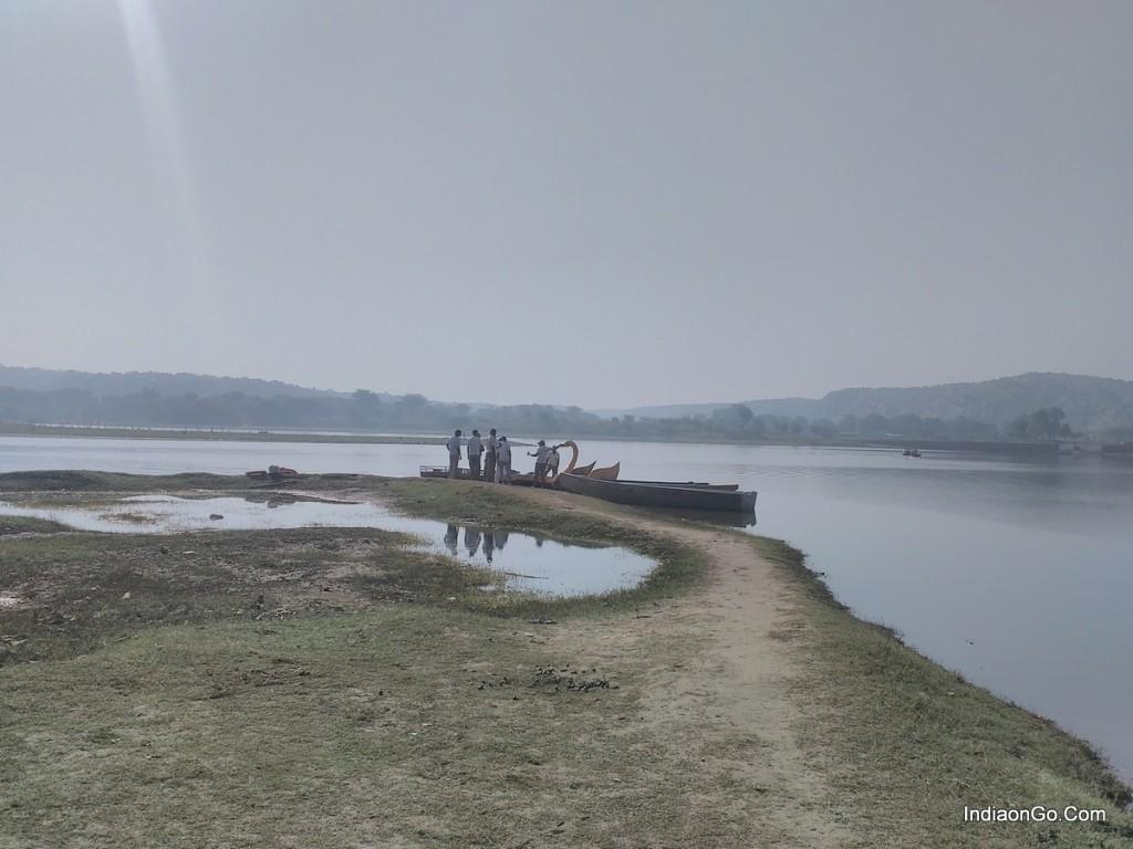 Damdama lake view