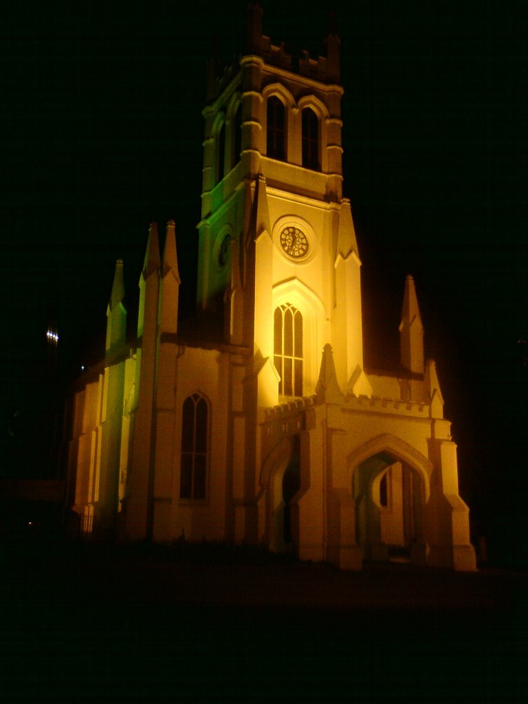 Christ Church Shimla in Night