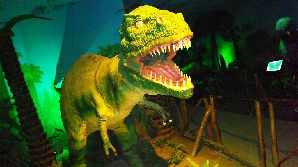 Dinosaur Robotic Model