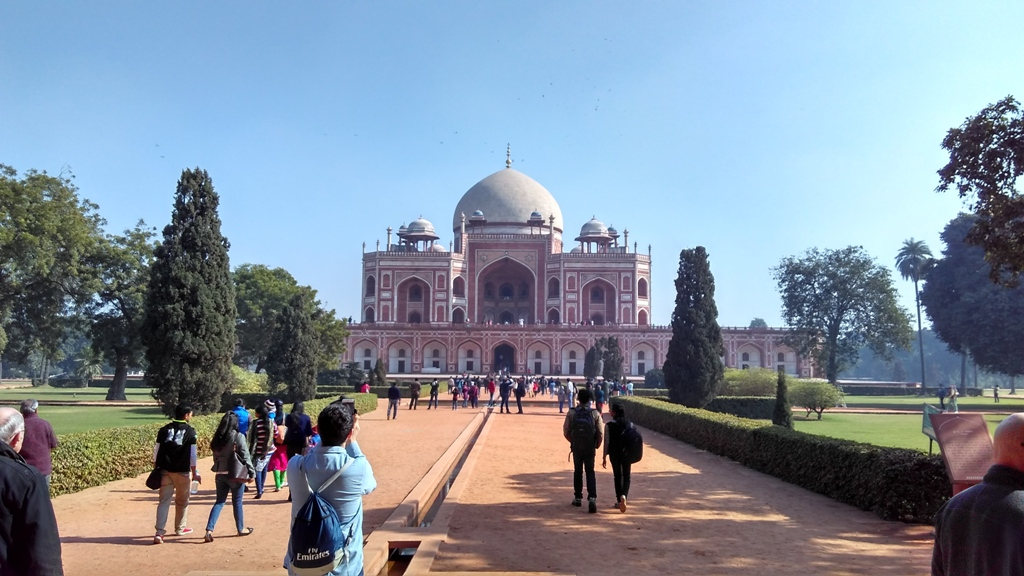 Humayun Tomb View from Entry Gate