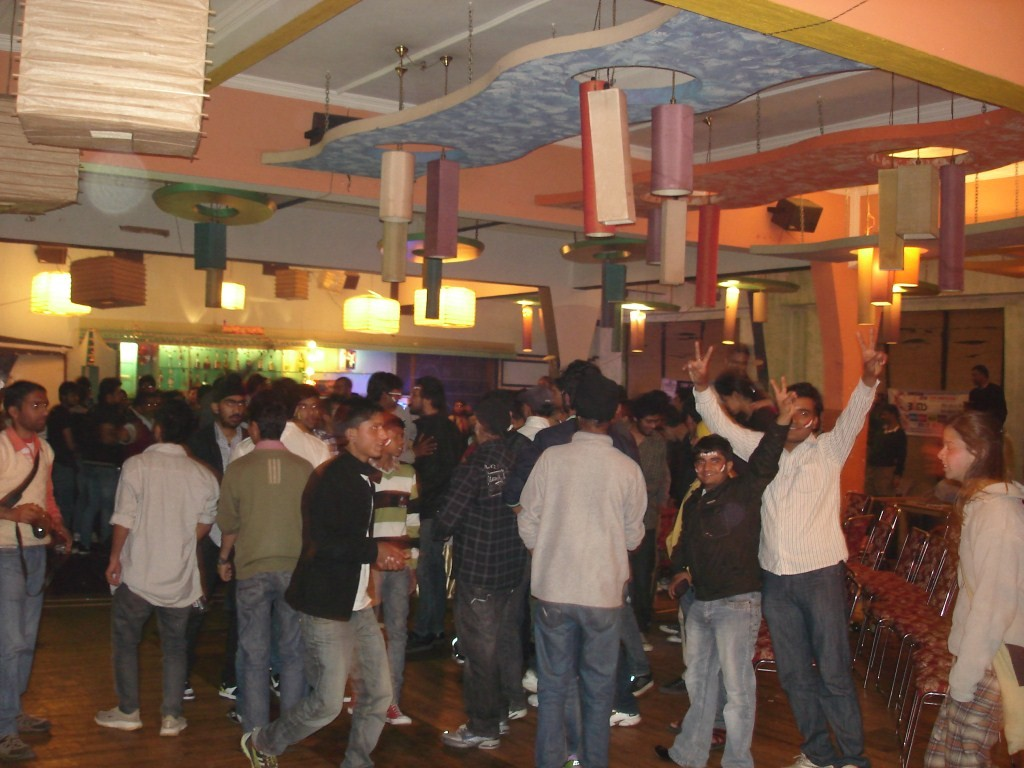 WC celebration in Bar