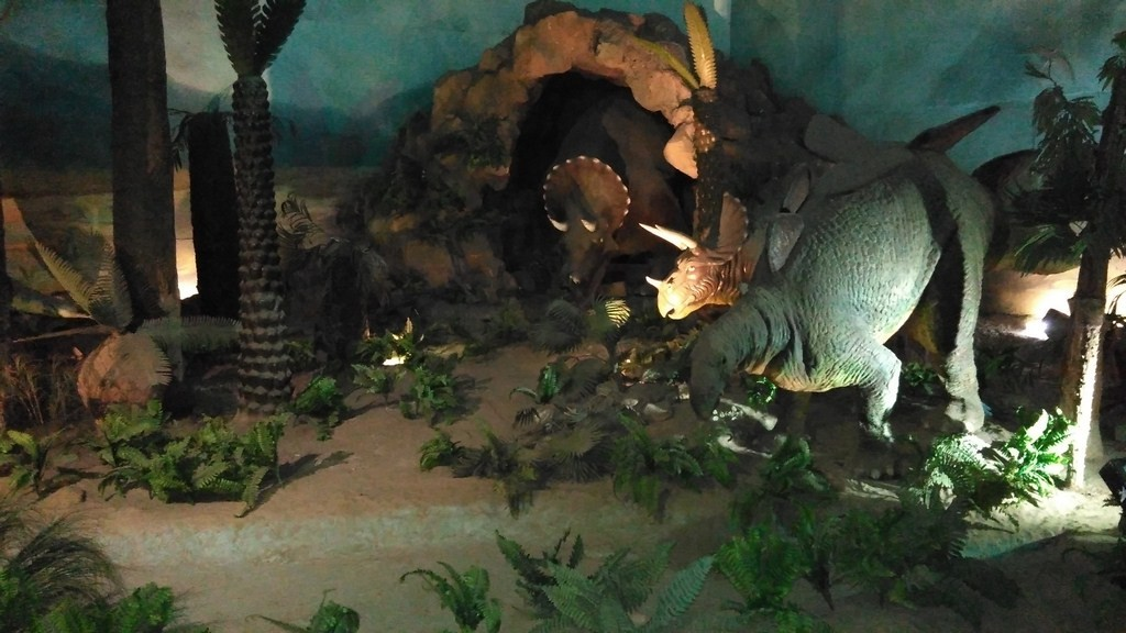 Dinosaurs in Science Centre