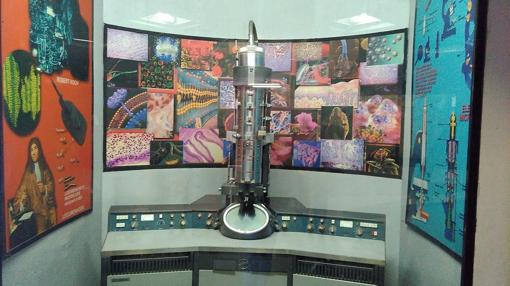 Electron Microscope in Delhi Science Museum