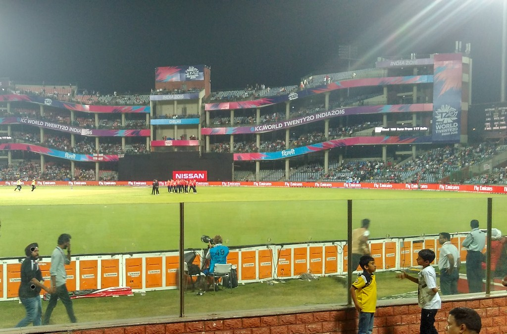 Feroz Shah Kotla Stadium Match