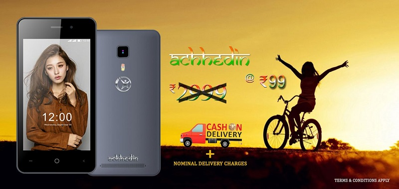 Namotel Acche Din Phone in Just 99 Rs With Cash on Delivery Option
