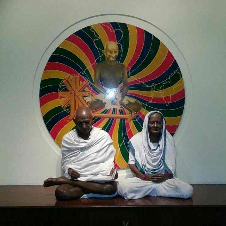 Inside Gandhi Smriti Museum