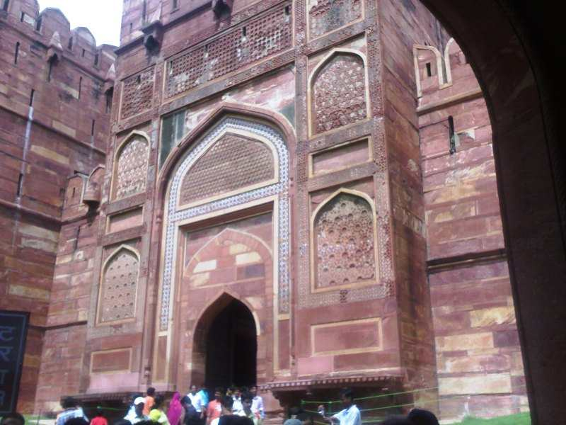 Agra Fort Entry Gate