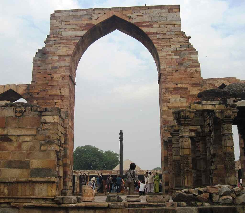 Iron Pillar Inside Qutub Complex