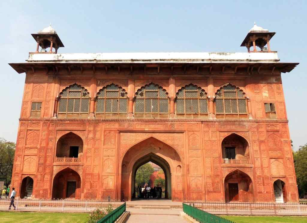 Entry Gate of Dilli Lal Kila