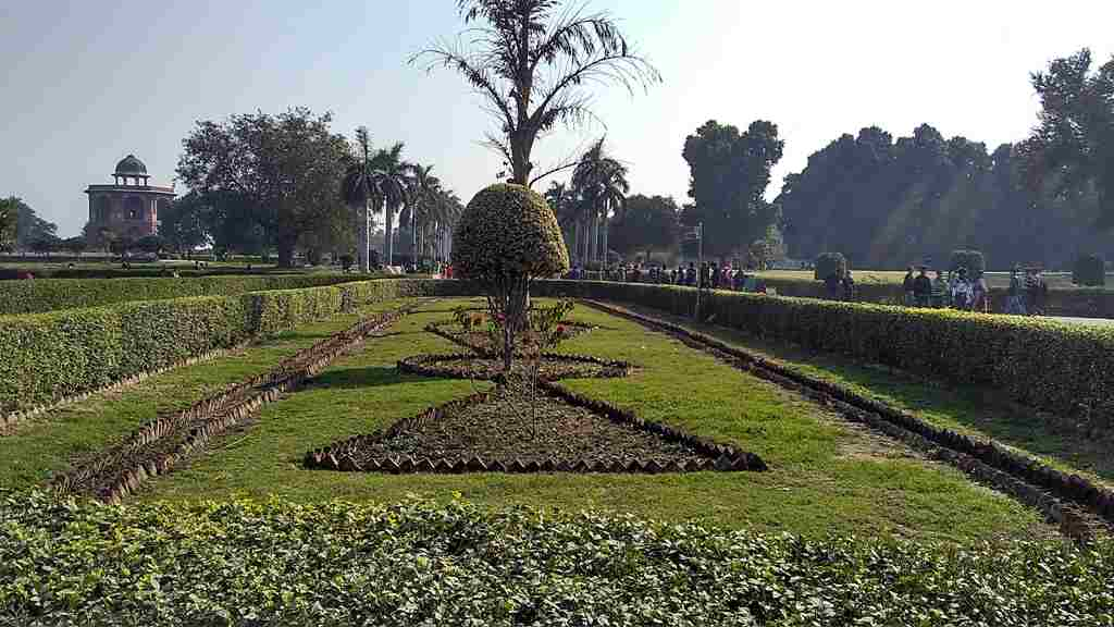 Gardens and Parks Inside the fort