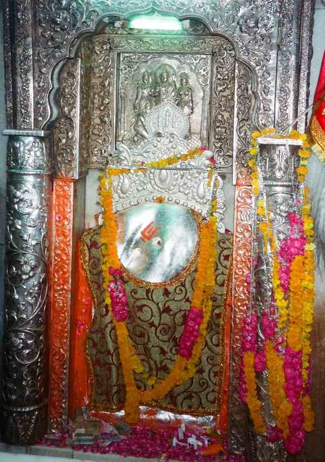 Lord Hanuman Idol at Hanuman Temple Connaught Place