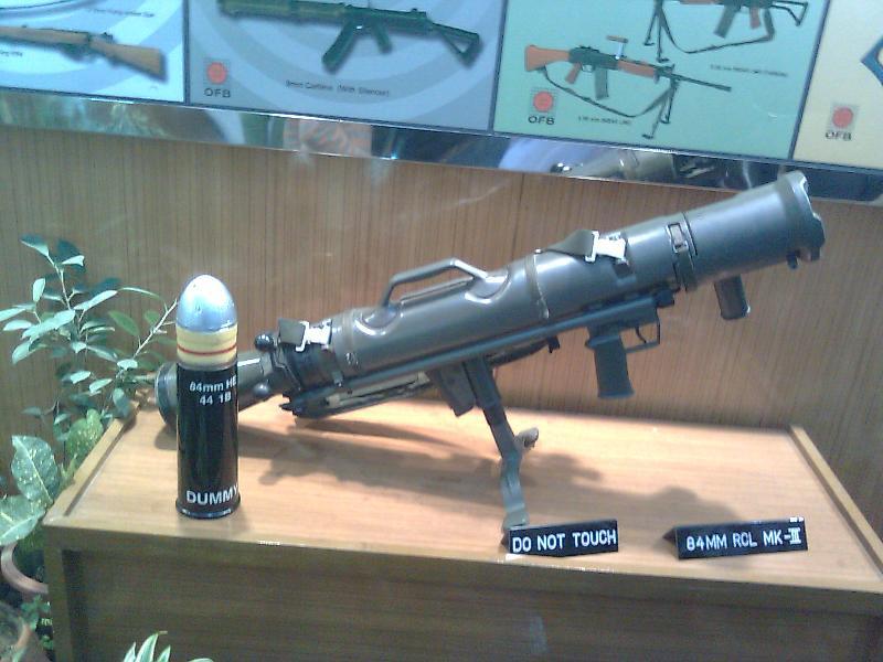Arms at Delhi Trade Fair at Defence Pavilion