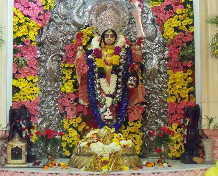 Devimaa Idol in Chhatarpur Temple