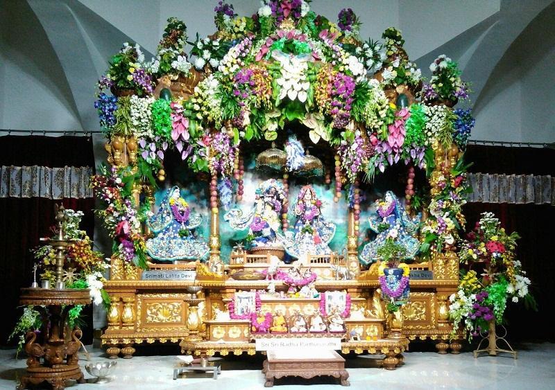 Lord Krishna Radharani Iskcon Temple