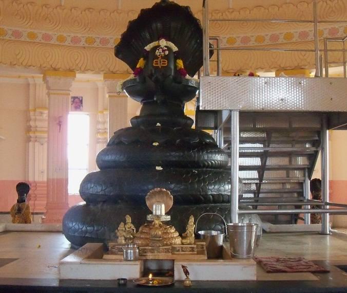 Nageshwar Idol in Chhatarpur Mandir