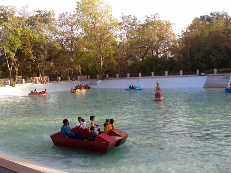 Paddle Boating inside Lucknow Zoo Complex