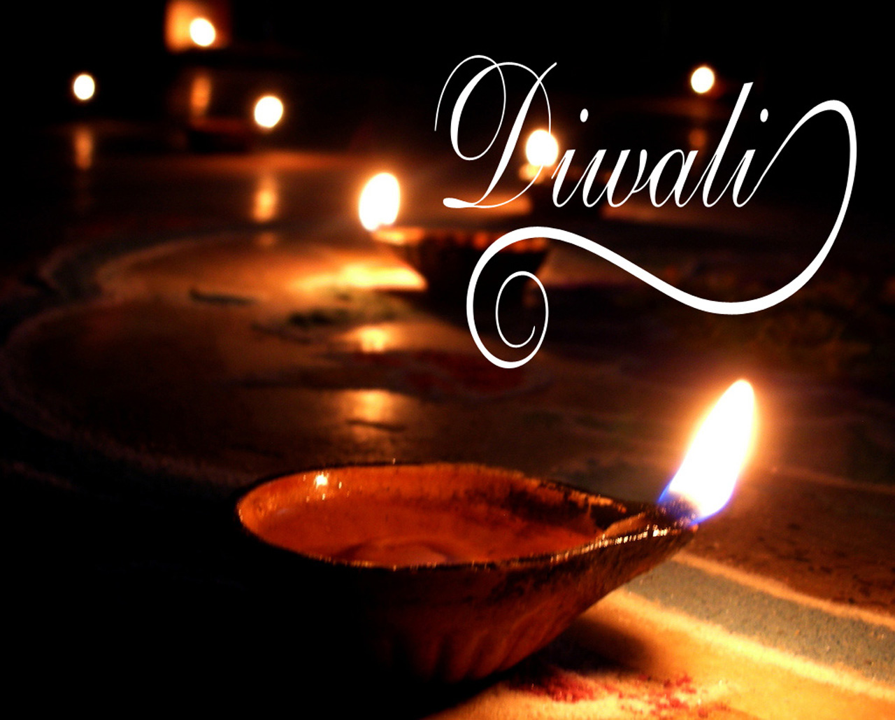 Diya Deepavali Wallpaper