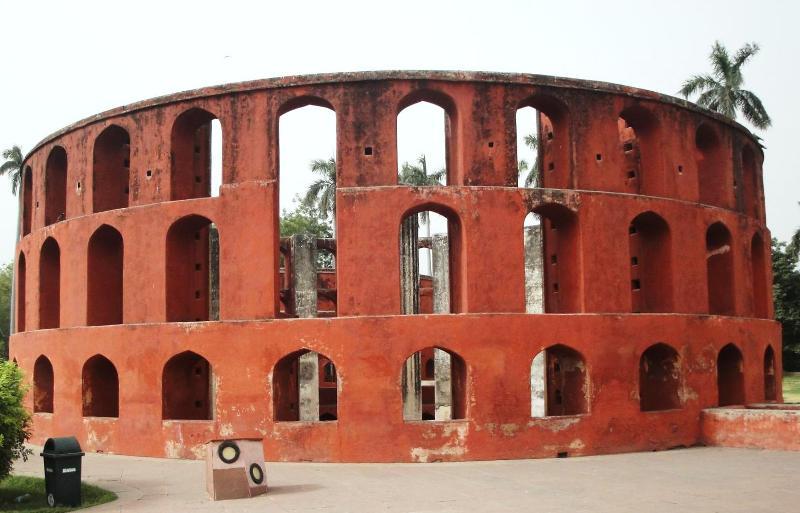Instruments inside Jantar Mantar Delhi