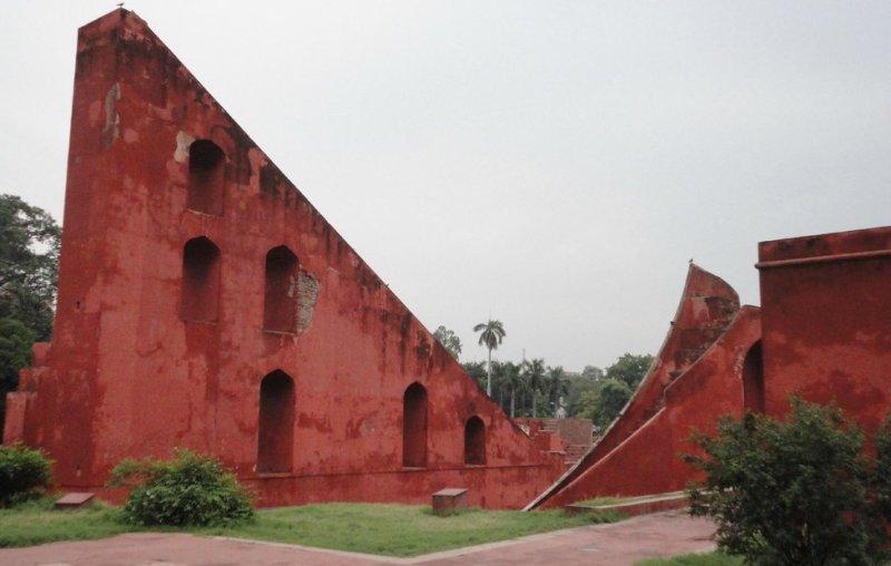 Observatory Instruments inside Jantar Mantar Delhi