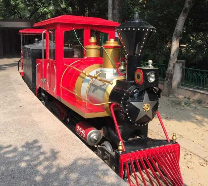 Toy Train Located inside Lucknow Zoo