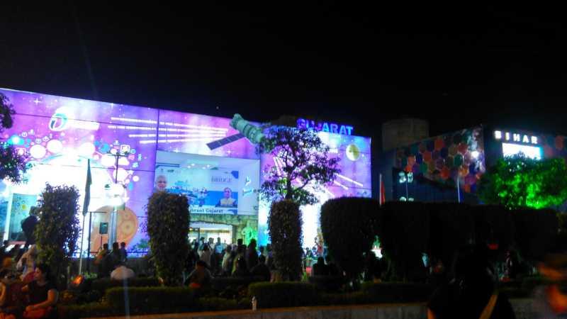 Gujarat and Bihar Pavilion
