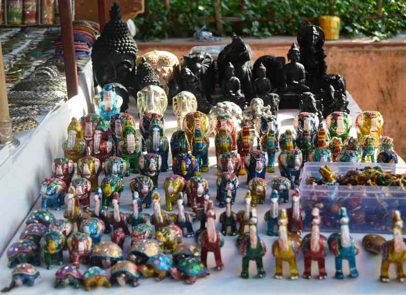 Handicraft items at Dilli Haat INA