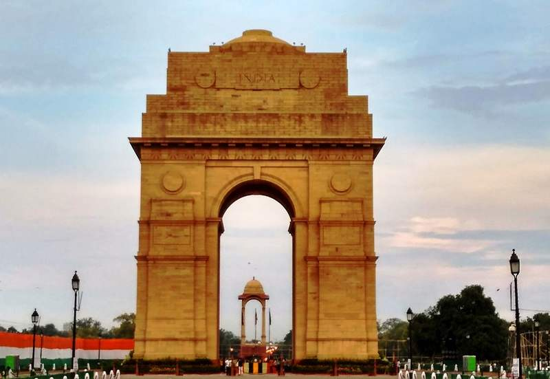 India Gate is a war memorial dedicated to Indian soldiers died in first world war