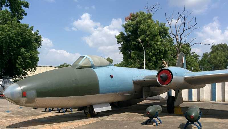 Indian Airforce Museum is located in Palam