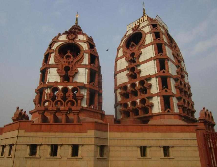 Iskcon Temple is located in East of Kailash