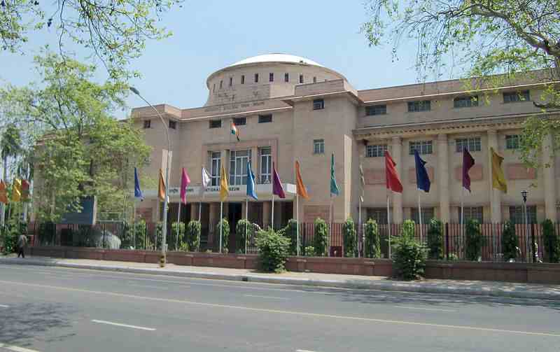 National Museum is one of biggest museum of India