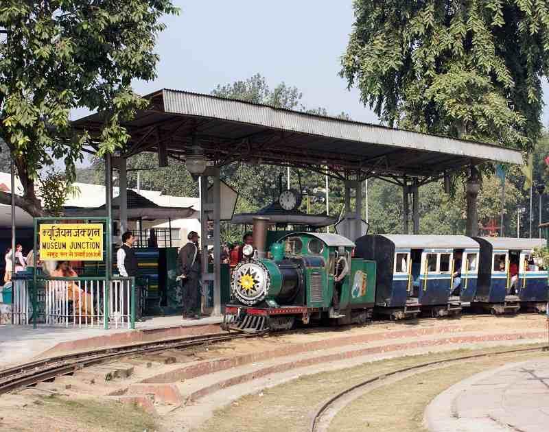National Rail Museum is located in Chanakyapuri