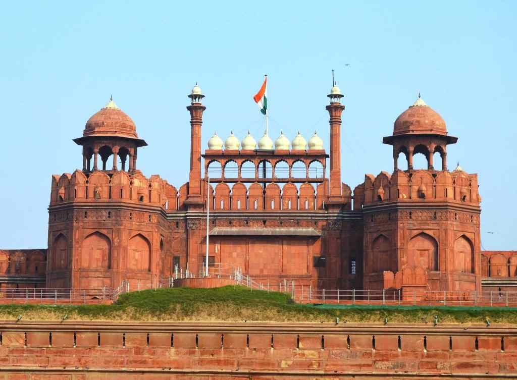 Red Fort Located in Old Delhi near Chandni Chowk Metro Station