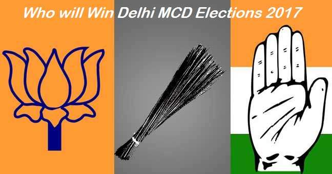 MCD opinion poll - Who will Win Delhi MCD elections 2017