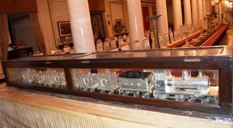 Jai Vilas Palace Museum Silver Train