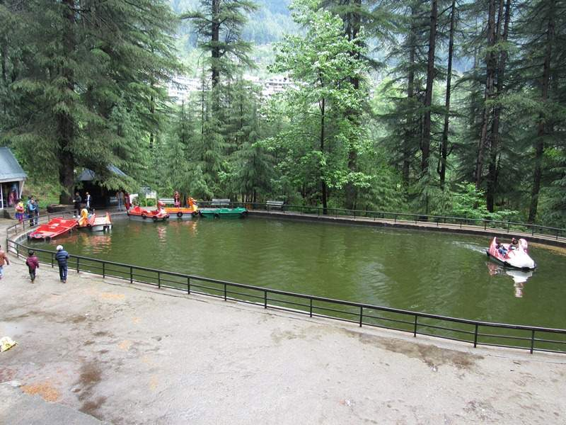 Van Vihar Manali Boating Lake