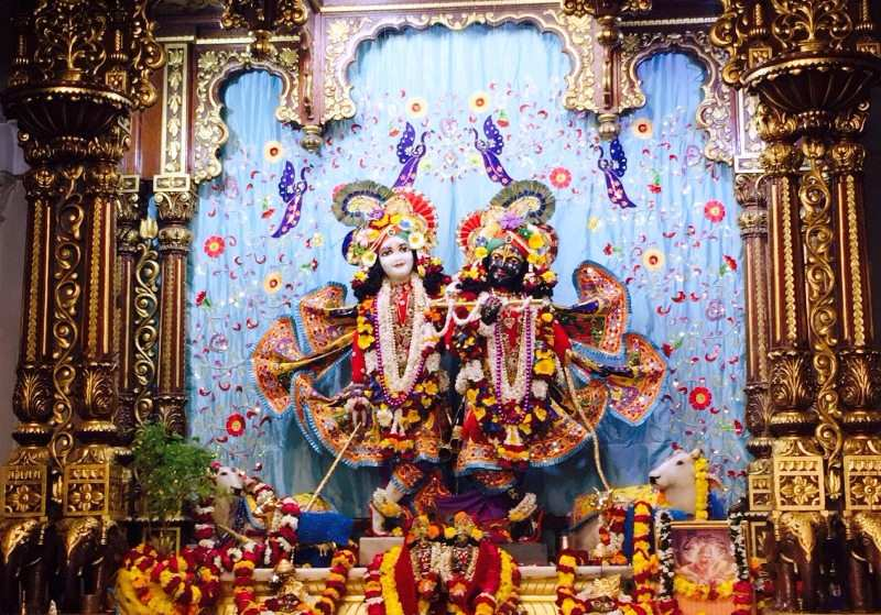 God Idols at Iskcon Temple Vrindavan