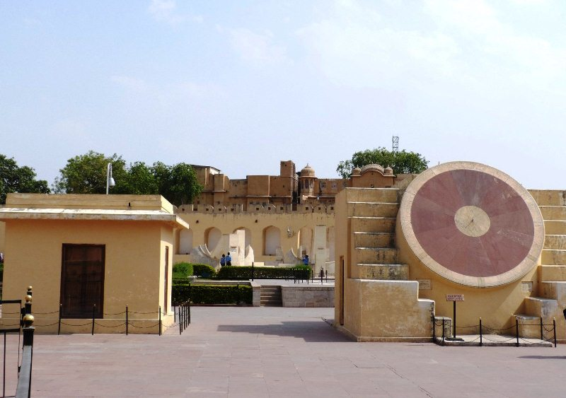 Instruments and Observatory at Jantar Mantar Jaipur