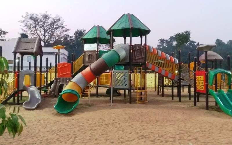 Children Park inside Eco Park Patna