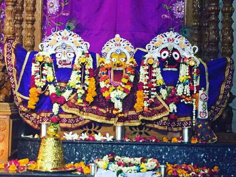 Lord Idols at ISKCON Temple Dwarka