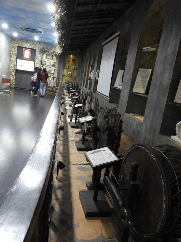 Charkha Museum CP Inside View