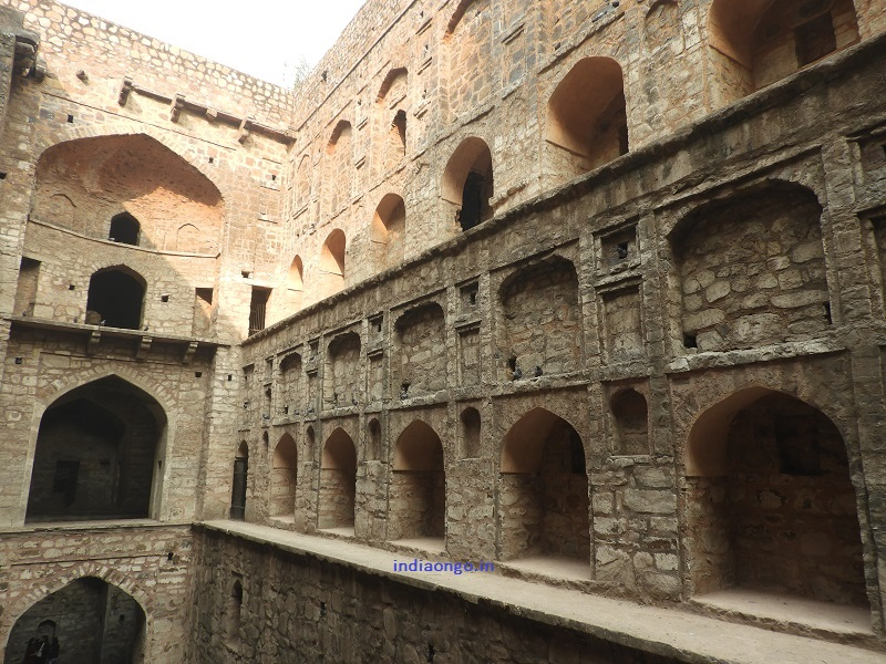 Side Walls of Ugrasen Ki Baoli