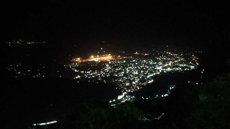 Katra at Night from Ardhkuwari