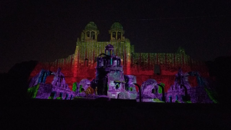 purana-qila-light-sound-show