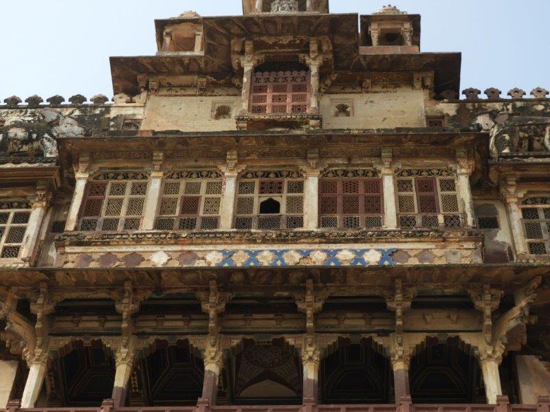 Datia Palace View