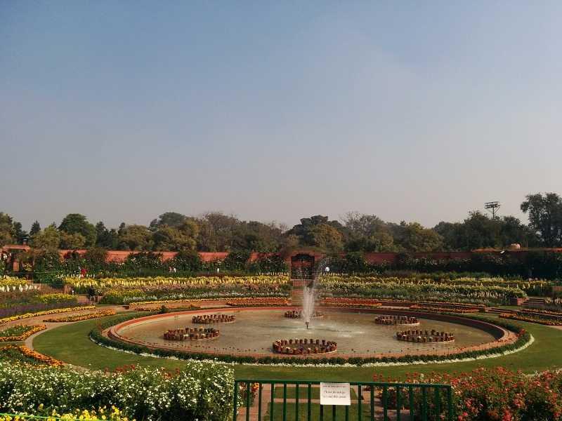 Mughal Gardens Delhi Rashtrapati Bhavan