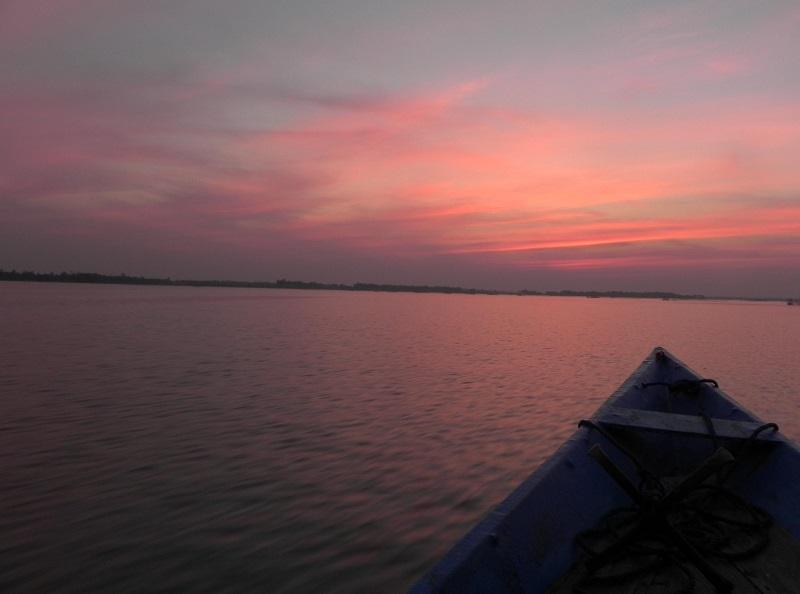 Sunset at Chilika Lake