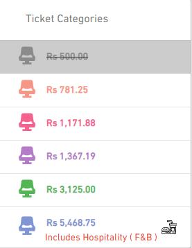 IPL Tickets Price in Hyderabad