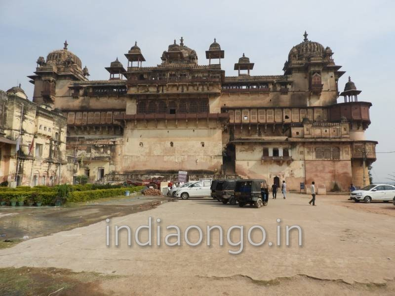 Beautiful Orchha Fort Entry Gate