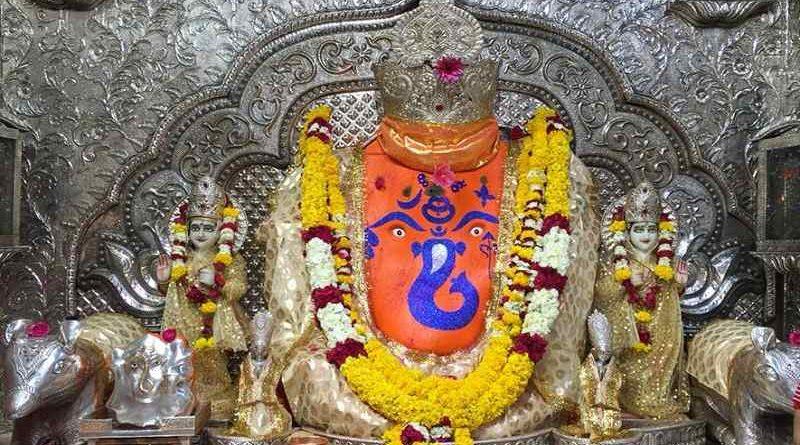Lord Ganesha Deity in Khajrana Ganesh Mandir Indore