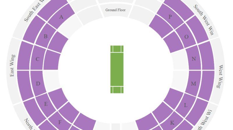 Navi Mumbai DY Patil Stadium Seating Layout Map